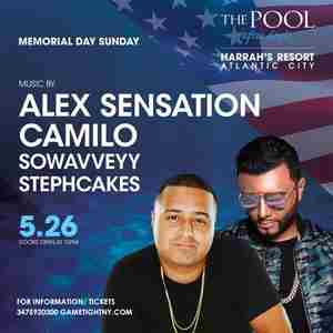 Memorial Day Weekend Atlantic City Harrahs Resort Pool Party 2019 in Atlantic on 26 May