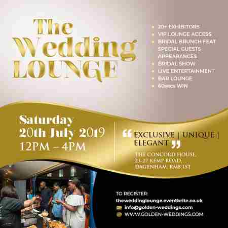 The Wedding Lounge in Greater London on 20 Jul