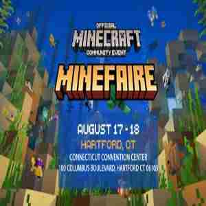 Minefaire: Official MINECRAFT Community Event (Hartford, CT) (Exhibition) in Hartford on 17 Aug
