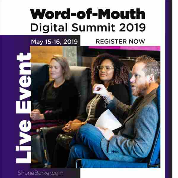 Word of Mouth Summit 2019 in Sacramento on 15 May