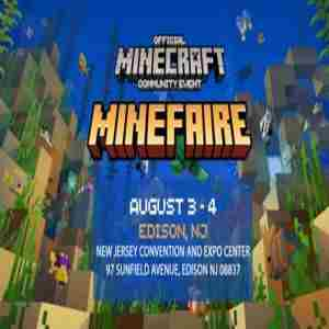 Minefaire: Official MINECRAFT Community Event (Edison, NJ) (Exhibition) in Edison on 3 Aug