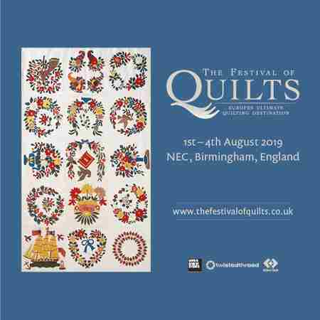 The Festival of Quilts in Marston Green on 1 Aug