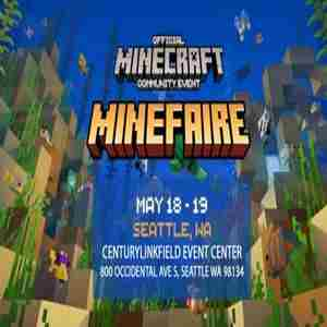 Minefaire: Official MINECRAFT Community Event (Seattle, WA) in Seattle on 18 May