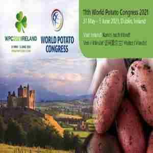 11th World Potato Congress 2021 in Dublin on 31 May