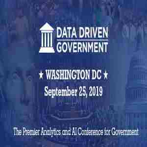 Data Driven Government 2019 in Washington on 25 Sep