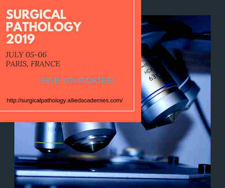 2nd International Conference on Pathology and Surgical Pathology in FRANCE on 5 Jul