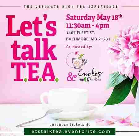 Let's Talk TEA (Truth|Empowerment|Accountability) in Baltimore on 18 May
