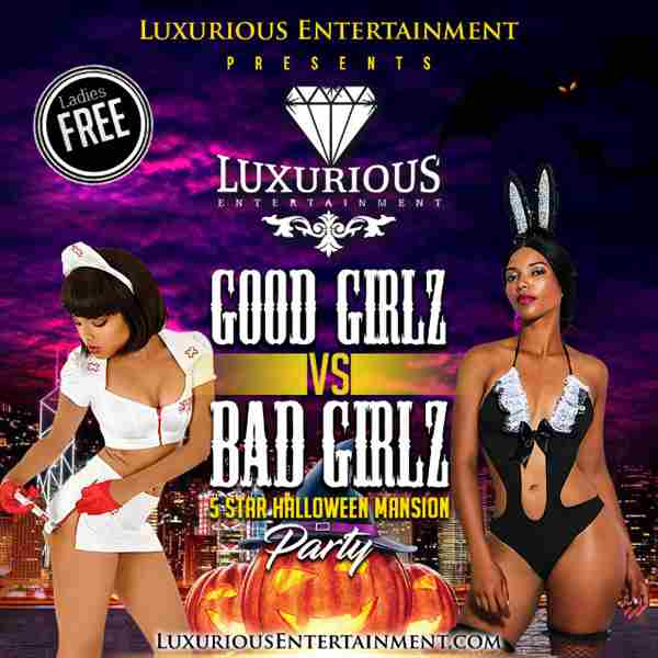Halloween Mansion Party : Good Girlz VS Bad Girlz in Hollywood Hills on 26 Oct