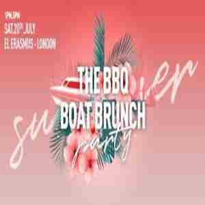 THE BBQ BOAT BRUNCH 2019 - RIVER THAMES, LONDON in London on Saturday, July 20, 2019