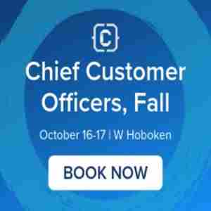 Chief Customer Officers, Fall in Hoboken on 16 Oct