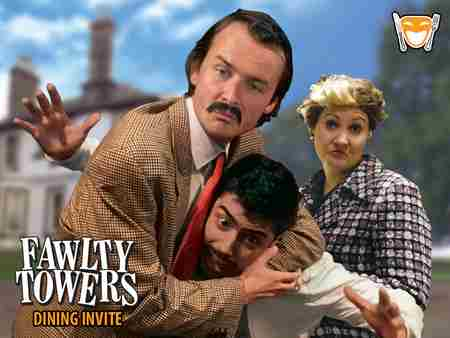 Fawlty Towers - Park Inn by Radisson Palace Southend-on-Sea on 5th July in Southend-on-Sea on 5 Jul