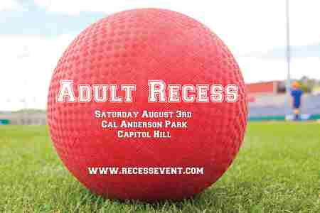 Adult Recess Seattle in Seattle on 3 Aug