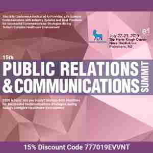 15th Public Relations and Communications Summit in Plainsboro Township on 22 Jul