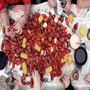 Louisiana Crawfish Boil - Wine and Cider Throw Down - TREASURE ISLAND SF in San Francisco on 18 May