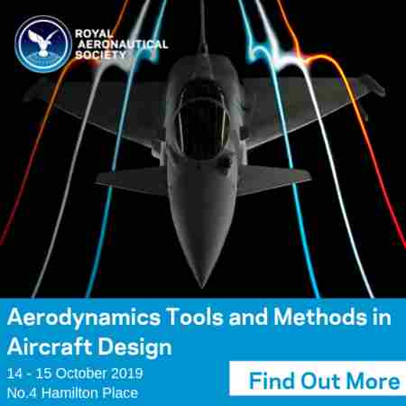 Aerodynamics Tools and Methods in Aircraft Design London 14-15 October 2019 in Greater London on 14 Oct