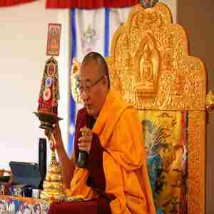 Emptiness and Buddha-nature in Kalachakra w/ Khentrul Rinpoche in New York on 11 Aug