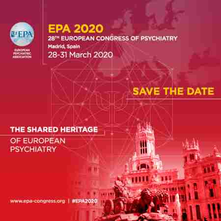 EPA 2020 Madrid, Spain: 28th European Congress of Psychiatry in Madrid on 28 Mar
