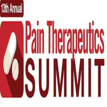 The 13th Annual Pain Therapeutics Summit in Arlington on 23 Sep