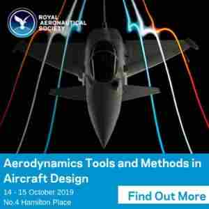 Aerodynamics Tools and Methods in Aircraft Design London 14-15 October 2019 in London on 14 Oct