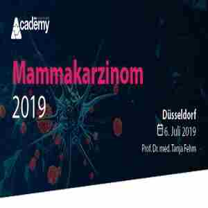 Mammary Carcinoma Update 2019 - A continuing education series from the MCI Academy in Düsseldorf on 6 Jul