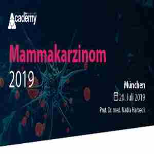 Mammary Carcinoma Update 2019 - A continuing education series from the MCI Academy in München on 20 Jul
