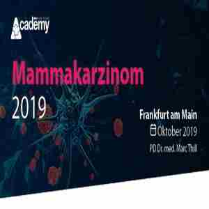 Mammary Carcinoma Update 2019 - A continuing education series from the MCI Academy in Frankfurt on 19 Oct