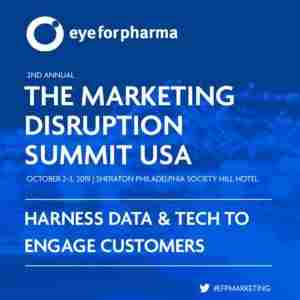 The Marketing Disruption Summit USA in Philadelphia on 2 Oct
