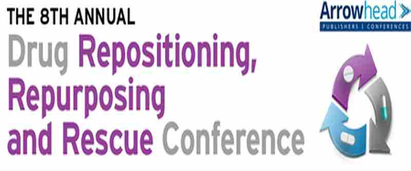 The 8th Annual Drug Repositioning and Repurposing Conference in Arlington on 23 Sep