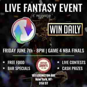 NBA Finals Game 4 - Free Live Viewing Party in New York on 7 Jun