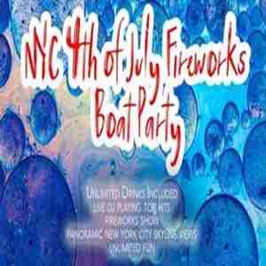 4th of July New York City Fireworks Boat Party in New York on 4 Jul