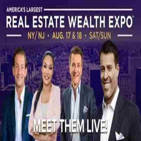 Real Estate Wealth Expo with Tony Robbins, Robert Herjavec and James Harris in Edison on 17 Aug