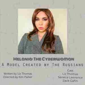 Melania: The Cyberwoman in New York on 30 Jun