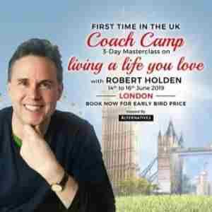 COACH CAMP - 3-Day Coaching Masterclass - Living a Life You Love!