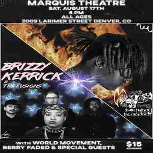 Brizzy Kerrick & The Fusions X Fuego Flames Birthday Blackout in Denver on Saturday, August 17, 2019