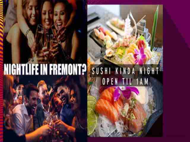 Sushi Fest + Nightlife in Fremont on 15 Jun