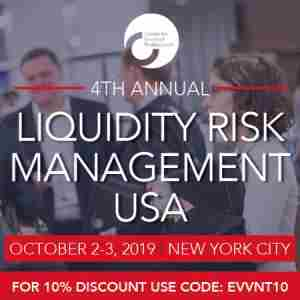 CeFPro 4th Annual Liquidity Risk Management USA | October 2-3 | NYC in New York on 2 Oct