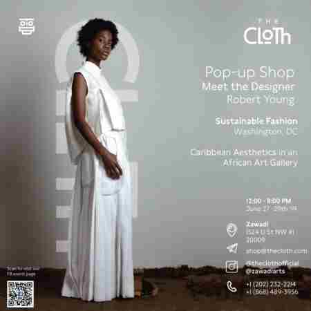 The Cloth: Meet the Designer Pop-Up Shop in Washington on 27 Jun
