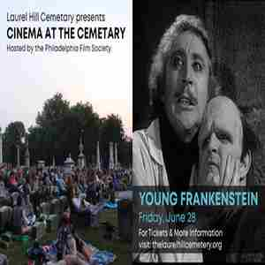Cinema in the Cemetery: Young Frankenstein in Philadelphia on 28 Jun