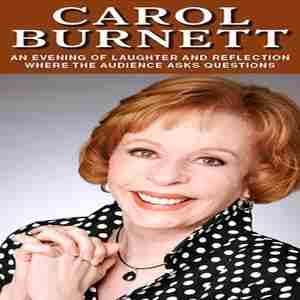 CAROL BURNETT is coming to ALTRIA THEATER in Richmond on Saturday, July 20 in Richmond on 20 Jul