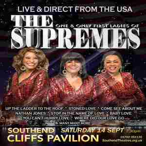 The Former Ladies of The Supremes in Southend-on-Sea on 14 Sep