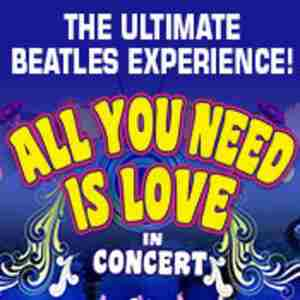 All You Need Is Love In Concert in Southend-on-Sea on 26 Sep