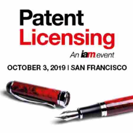 Patent Licensing, 3 October 2019, San Francisco in San Francisco on Thursday, October 3, 2019