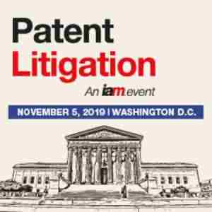 Patent Litigation 2019, November 5, Washington D.C. in Washington DC on 5 Nov