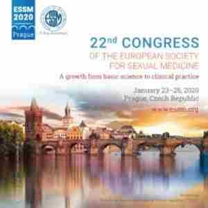 22nd Congress of the European Society for Sexual Medicine in Praha on 23 Jan