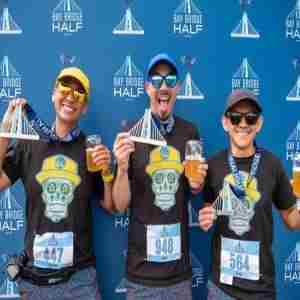 Bay Bridge Half Marathon in Oakland on 3 May