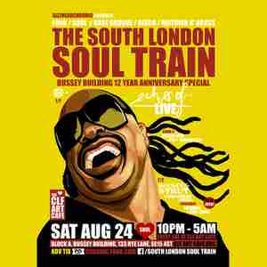 The South London Soul Train Celebrates 12 Years Of The Bussey Building in London on 24 Aug