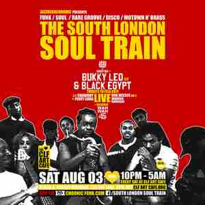 The South London Soul Train with Bukky Leo & Black Egypt Live Trib To Fela in London on 3 Aug