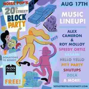 LIVE MUSIC ft. 20th Street Block Party in San Francisco on Saturday, August 17, 2019