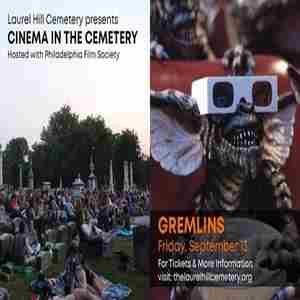 Cinema in the Cemetery: Gremlins in Philadelphia on 13 Sep