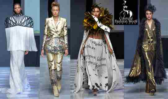 Couture Fashion Week in New York on 6 Sep